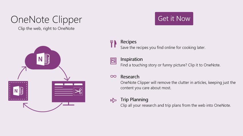 OneNote Clipper Gets Even Better with New UI, Location