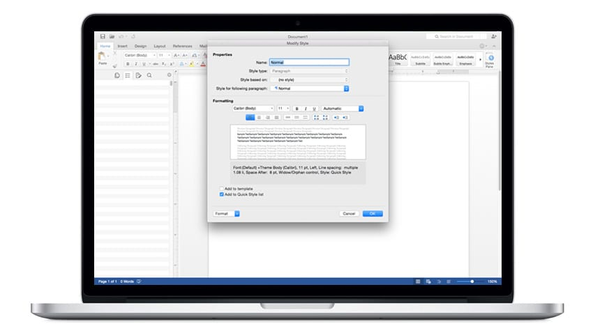 A Matter of Style: Word 2013 for Windows vs. Word 2016 for Mac