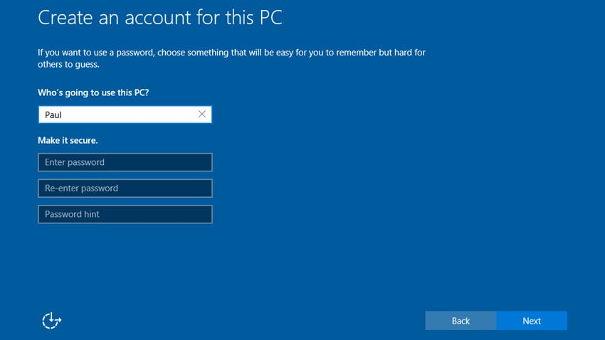 windows 10 drops reliance on microsoft account thurrottcom