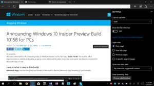 Windows 10 Build 10158 Heads to Windows Insider Fast Ring Testers