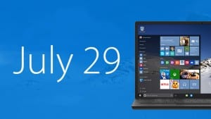 And the Release Date for Windows 10 Is...