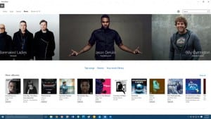 Microsoft Brings Music to the Windows 10 Store