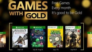 Games with Gold: July 2015