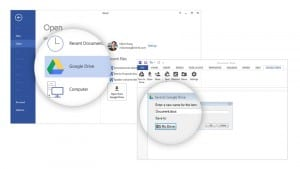 Google Adds Support for Google Drive to Microsoft Office