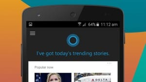 Microsoft Replaces Google Now on Android with Cortana