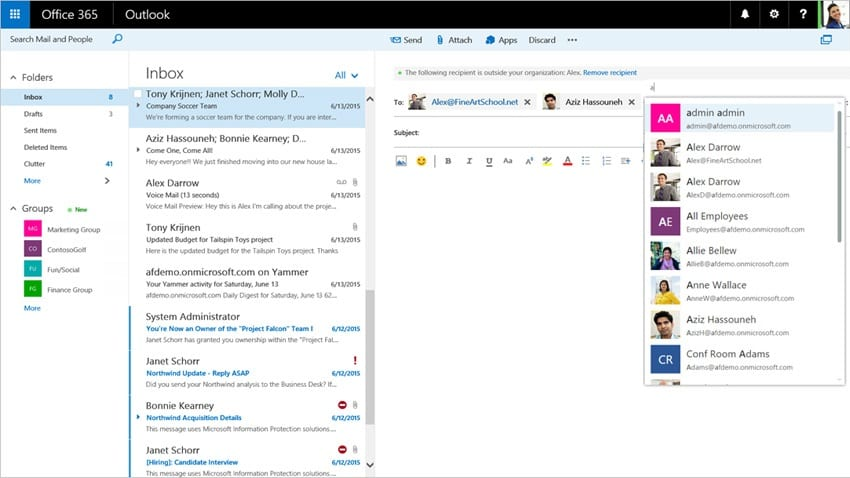 Microsoft Announces New Features For Outlook On The Web In Office