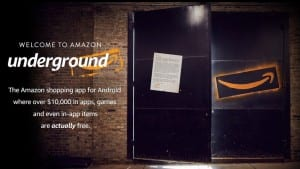 With Underground App, a New Android Push from Amazon