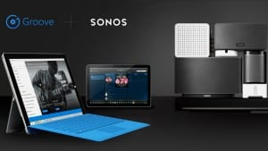 Groove Music + Sonos