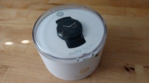 Moto 360 First Impressions