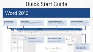 Microsoft Offers Free Office 2016 Quick Start Guides