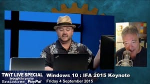 TWiT Live Specials 251: Microsoft's IFA 2015 News Conference