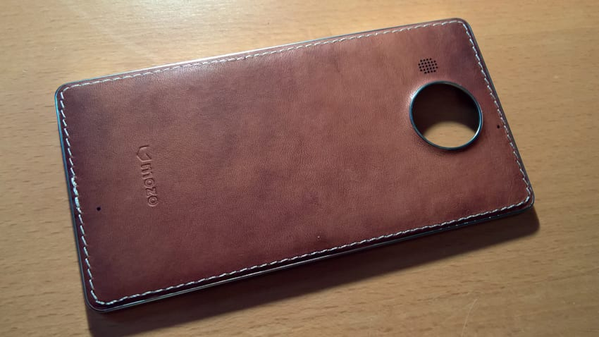 mozo 950  A (Very) Quick Look at the Mozo Leather Cover for Lumia 950 XL ...