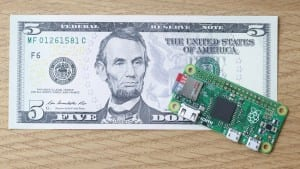 Raspberry Pi Introduces a $5 Computer