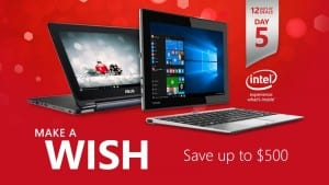 Today's 12 Days of Deals Promotion: Save Up to $500 on Select PCs
