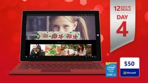 Today's 12 Days of Deals Promotion: Big Savings on Surface Pro 3 i3