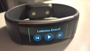 Microsoft Band 2 Tip: Control Music Playback