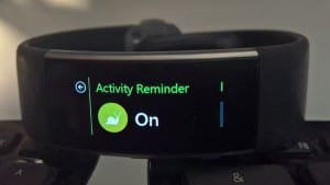 Microsoft Band 2 Tip: Get Activity Reminders