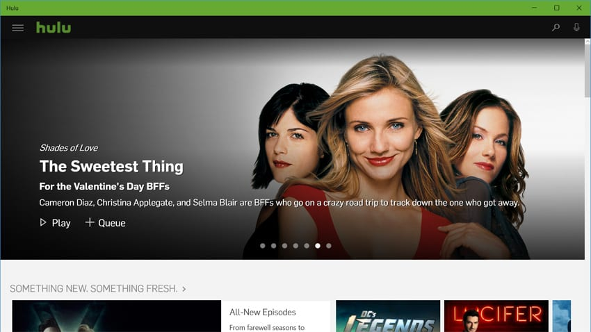 Hulu is Now a Universal App for Windows 10 - Thurrott com