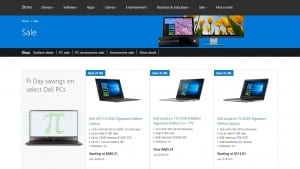 Microsoft is having a nice Spring sale at its retail and online store. Key deals include $100 off Core i5-based Surface Pro 4 models, big savings on the Dell XPS 13 laptop, and 2 free games with select Xbox One purchases.