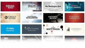 Audible Expands with Channels of Free Content for Members