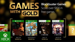 Games with Gold: April 2016
