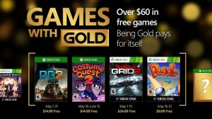 Games with Gold: May 2016