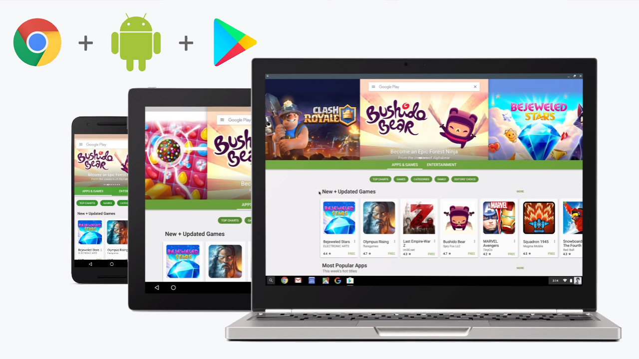 Google Demonstrates Why Bringing Android Apps to Chromebook is So Disruptive