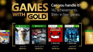 Games with Gold: June 2016