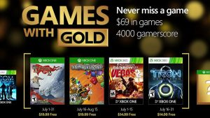 Games with Gold: July 2016