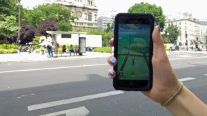 An American Pokémon Hunter in Paris