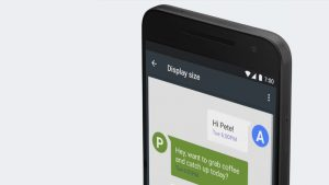 Android 7.0 Nougat Tip: Customize the Display and Font Sizes
