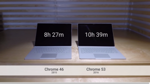 Google Claims Hours More Battery Life with Chrome for Windows