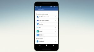 Office on Android Picks Up Cloud Storage Service Integration