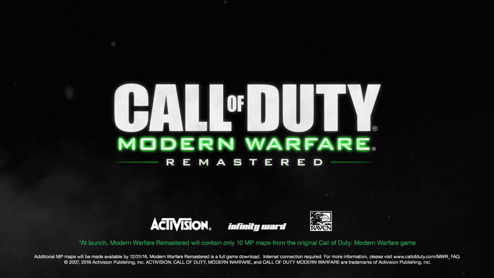 how to get mw4 remastered