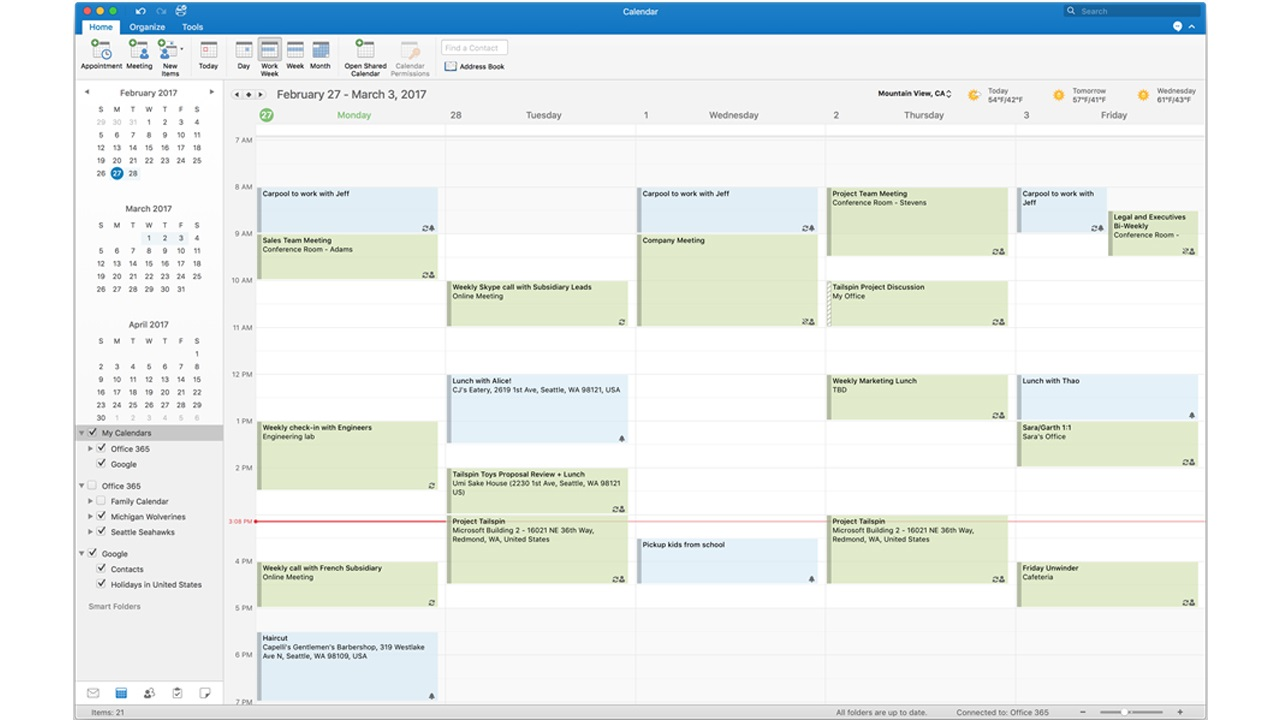 Microsoft is Bringing Support for Google Calendar and