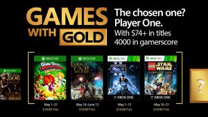 The Force is with Games with Gold in May