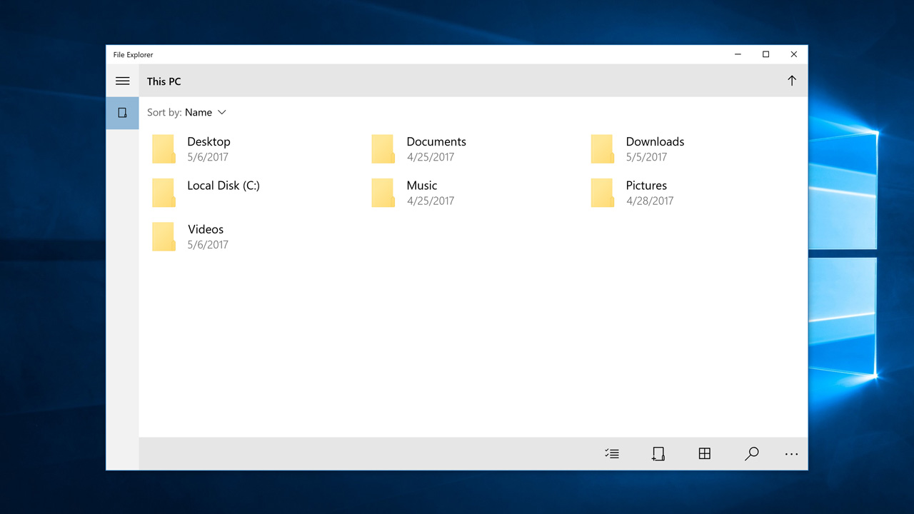 Windows 10 Tip: Unlock the UWP File Explorer - Thurrott com