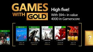 June is Another Great Month for Games with Gold
