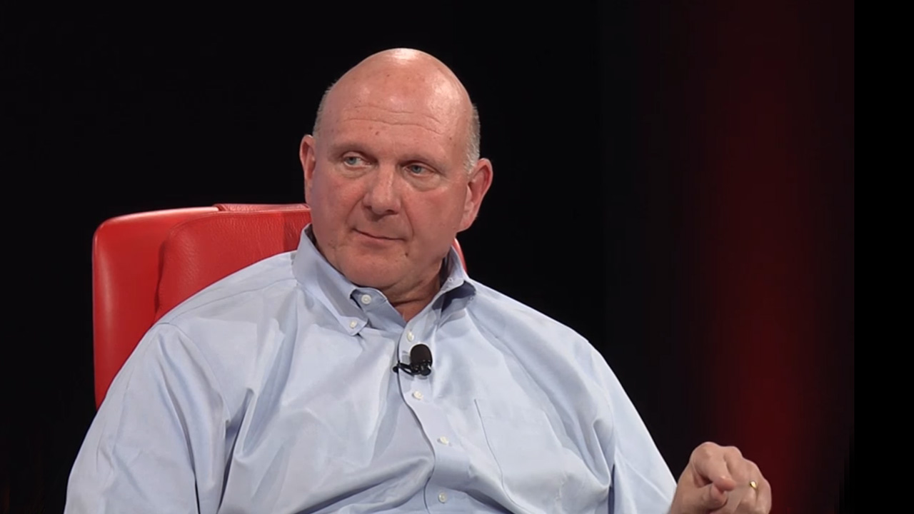 Steve Ballmer, Stop Beating Yourself Up Over Hardware (Premium)