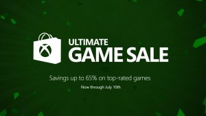 Xbox Ultimate Game Sale is Now Live