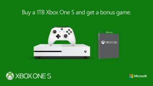 Buy a 1 TB Xbox One S Bundle, Get a Free Game