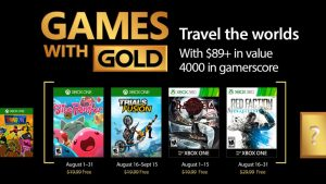 Games with Gold Offers Bayonetta, More in August