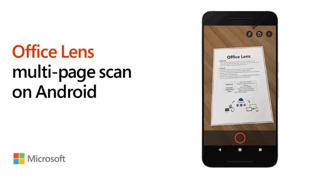 Multi-Page Document Scanning Comes to Office Lens for