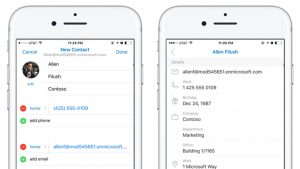You Can Now Edit Contacts in Outlook for Android and iOS