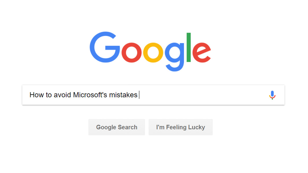 Google is Learning From Microsoft's Mistakes (Premium)