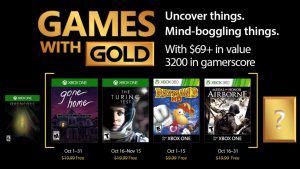Games with Gold Serves Up Mysteries, Zombies, and More