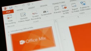 Microsoft is Retiring Office Mix, Bringing Features Elsewhere
