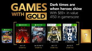 Celebrate the New Year Early with Games with Gold