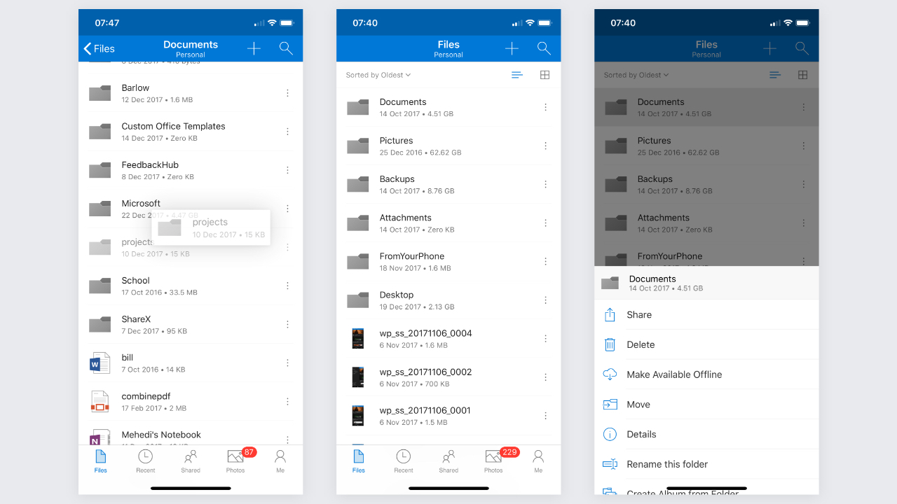 OneDrive for iOS Gets Refined Designed With Big New Update