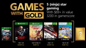 More Games with Gold for Those Cold Winter Nights